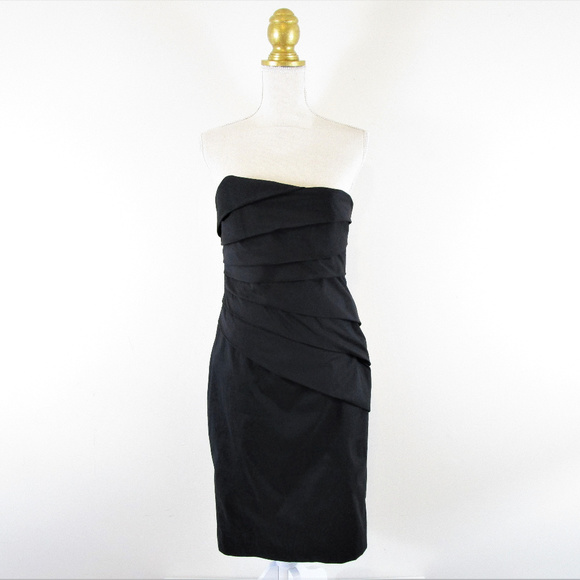 84dacbf1864e1 WHBM Little Black Cocktail Party Dress Layered. M_5afddc499d20f009fd1438a4